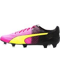 Puma EVOSPEED SL II TRICKS FG Chaussures de foot à crampons pink/neongelb