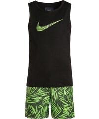 Nike Performance SET Short de bain black/action green