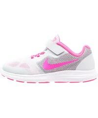 Nike Performance REVOLUTION 3 Chaussures de running neutres pure platinum/pink blast/wolf grey/white
