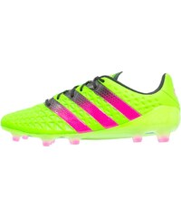 adidas Performance ACE 16.1 FG/AG Chaussures de foot à crampons solar green/shock pink/core black