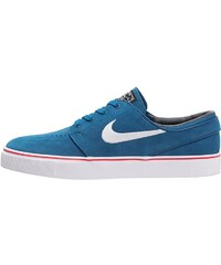 Nike SB ZOOM STEFAN JANOSKI Chaussures de skate green abyss/white/university red/black