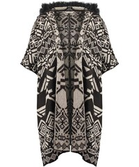 Miss Selfridge Cape black
