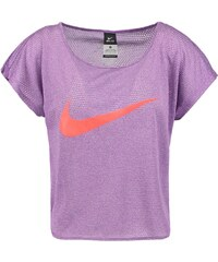 Nike Performance CITY COOL Tshirt imprimé cosmic purple/bright crimson/reflective silver