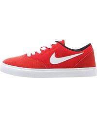Nike SB CHECK Baskets basses university red/white/black