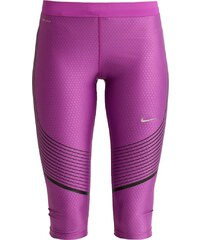 Nike Performance POWER SPEED Collants cosmic purple/black/reflective silver