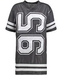Reebok VARSITY Tshirt imprimé black