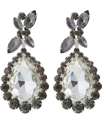 sweet deluxe PRINCESS Boucles d'oreilles silvercoloured/diam/cryst