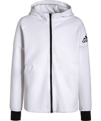 adidas Performance Sweatjacke white/black
