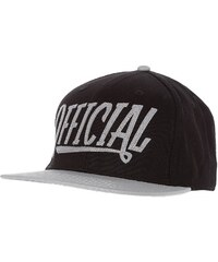 Official OFFICIAL NATION Casquette black/grey