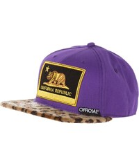 Official CALI PURPS Casquette multi/animal print