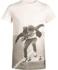 Little Pieces Boys LPTYRELL Tshirt imprimé snow white