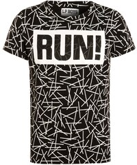 Little Pieces Boys LPBVIRUN Tshirt imprimé black