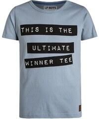 Little Pieces Boys LPBVIEW Tshirt imprimé ashley blue