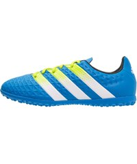 adidas Performance ACE 16.3 TF Chaussures de foot multicrampons shock blue/semi solar slime/white