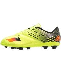 adidas Performance MESSI 15.4 FXG Chaussures de foot à crampons semi solar slime/solar red/core black