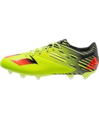 adidas Performance MESSI 15.2 Chaussures de foot à crampons semi solar slime/solar red/core black