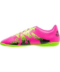 adidas Performance X 15.4 IN Chaussures de foot en salle shock pink/solar green/core black