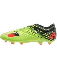 adidas Performance MESSI 15.1 FG/AG Chaussures de foot à crampons semi solar slime/solar red/core black