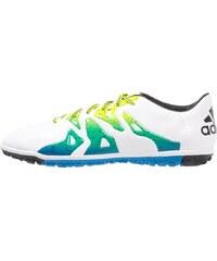 adidas Performance X 15.3 TF Chaussures de foot multicrampons white/core black/semi solar