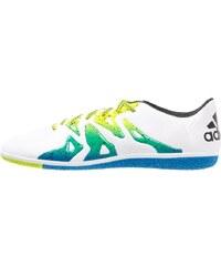 adidas Performance X 15.3 IN Chaussures de foot en salle white/core black/semi solar slime