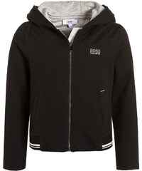 BOSS Kidswear Sweat zippé schwarz