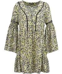 Morgan Robe d'été anis/gris
