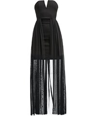 Rare London Robe longue black