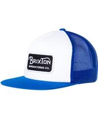 Brixton GRADE Casquette white/blue
