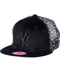 New Era Casquette new york yankees black/leopard