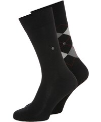 Burlington 2 PACK Chaussettes black