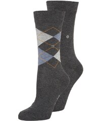 Burlington 2 PACK Chaussettes anthracite melange