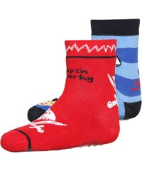 Coppenrath Verlag CAPT'N SHARKY 2 PACK Chaussettes navy striped/red striped