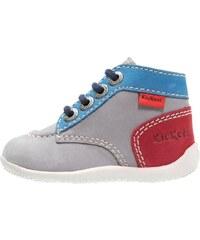 Kickers BONBON Chaussures premiers pas gris/rouge/bleu