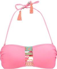Beachlife Haut de bikini camelia rose