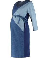 Mama Licious MLTRINE Robe en jean medium blue denim