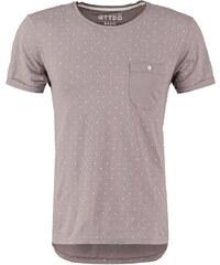 TOM TAILOR DENIM BASIC FIT Tshirt imprimé steel grey