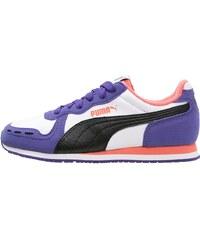 Puma CABANA RACER Baskets basses white/black/prism violet