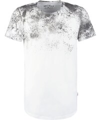Jack & Jones JJORSUBWAY SLIM FIT Tshirt imprimé cloud dancer