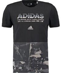 adidas Performance Tshirt imprimé black