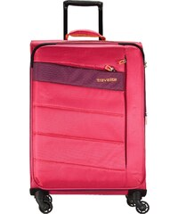 Travelite KITE L (75 cm) Valise à roulettes pink