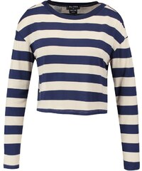 The Fifth Label DISCOVERY Tshirt à manches longues stone/petrol blue