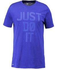 Nike Performance JUST DO IT Tshirt imprimé deep royal blue/game royal