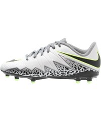 Nike Performance HYPERVENOM PHELON II FG Chaussures de foot à crampons pure platinum/black/ghost green/cool grey/metallic silver/clear jade