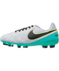 Nike Performance TIEMPO LEGEND VI FG Chaussures de foot à crampons wolf grey/black/clear jade/metallic silver/ghost green
