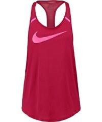 Nike Performance FLOW Tshirt de sport noble red/hyper pink