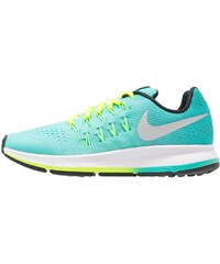 Nike Performance ZOOM PEGASUS 33 Chaussures de running neutres hyper turquoise/metallic silver/clear jade/volt/white