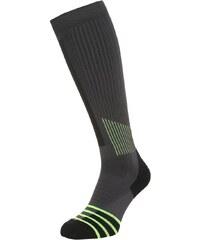 Nike Performance HIGH INTENS OTC Chaussettes de sport anthracite/volt yellow