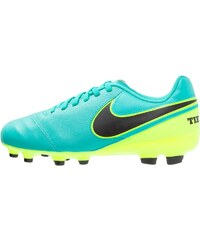 Nike Performance TIEMPO LEGEND VI FG Chaussures de foot à crampons clear jade/black/volt