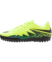 Nike Performance HYPERVENOM PHELON II TF Chaussures de foot multicrampons volt/black/hyper turquoise/clear jade