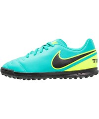 Nike Performance TIEMPO RIO III TF Chaussures de foot multicrampons clear jade/black/volt